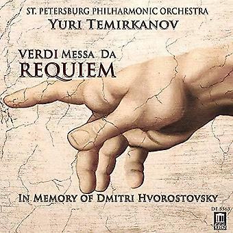 Messa Da Requiem [CD] USA import