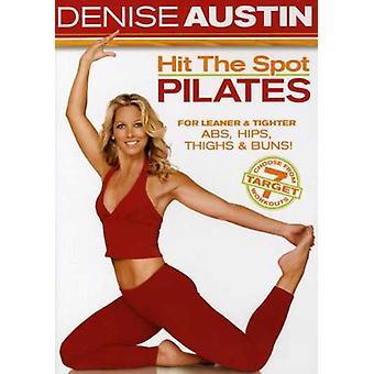 Denise Austin - Austin D-Hit a importação EUA Pilates Spot [DVD]