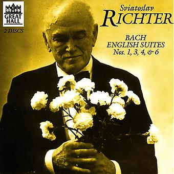 J.S. Bach - Bach: English Suites Nos. 1, 3, 4, 6 [CD] USA import
