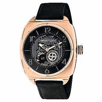 Briston 201042.SPRG.SK.1.CH Streamliner Skeleton Black Strap Automatic Wristwatch