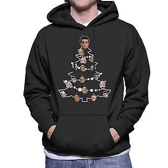Thunderbirds Christmas Tree Caractère Bauble Men-apos;s Sweatshirt à capuchon