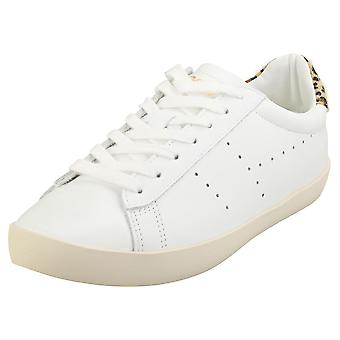 Gola Nova Womens Fashion Trainers in White Leather
