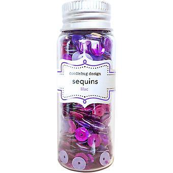Doodlebug Design Lilac Sequins