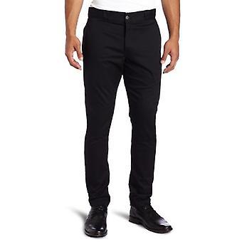 Dickies Men's Skinny Straight Fit Work Pant, Black, 31x30