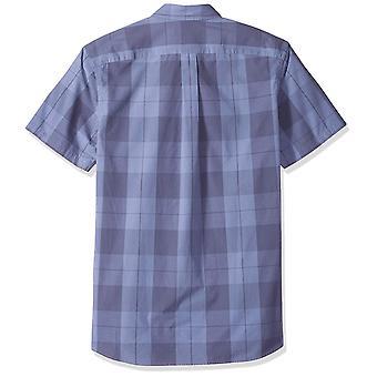 Goodthreads Men's Standard-Fit Kurzarm Plaid Poplin Shirt, -indigo große...