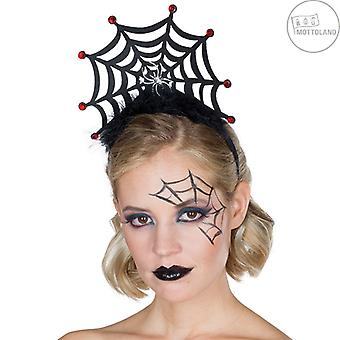 Spider web pandebånd plys edderkop tilbehør Halloween web