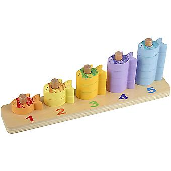 Orange Tree Toys Counting Fish