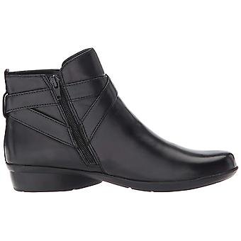 Naturalizer Womens Cassandra Leather Round Toe Ankle Fashion Boots