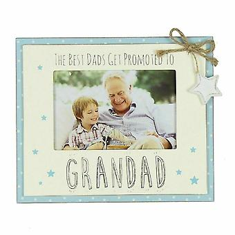 Widdop & Co. Promoted To Grandad 6 X 4 Love Life Photo Frame