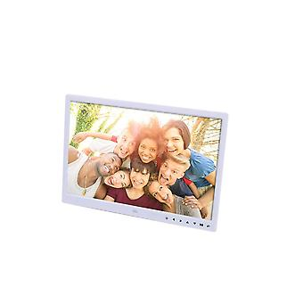 Digital Picture Photo Frame Hd Resolution 16:9, Wide Picture Screen Clear And