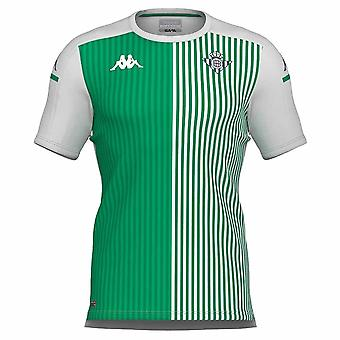 2020-2021 Real Betis Warm Up Top (Weiß-Grün)