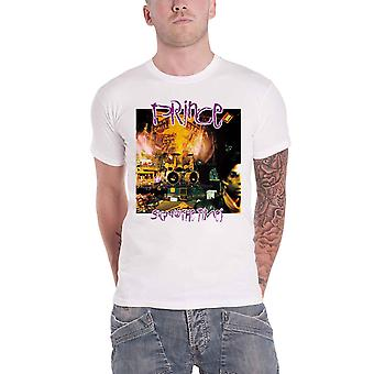 Prince T Shirt Sign O' The Times new Official Mens White