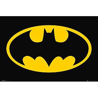 DC Comics Bat Symbol Maxi Affiche