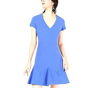 Bar III | Seam-Detail Fit & Flare Dress