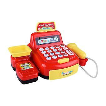 Comptoir de caisse simulé de supermarché - jouet de caisse enregistreuse de caisse de rôle