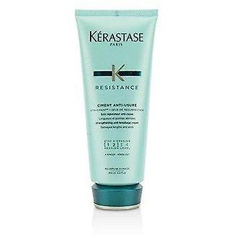 Resistance Ciment Anti-Usure Strengthening Anti-Breakage Cream - Rinse Out (For Damaged Lengths & Ends) 200ml or 6.8oz