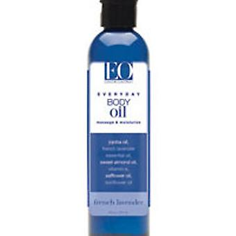 EO Products Body Oil, French Lavender 8 oz