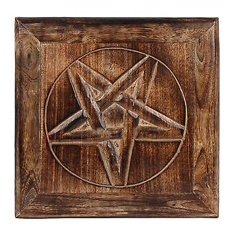 Medium Pentagram alttari taulu
