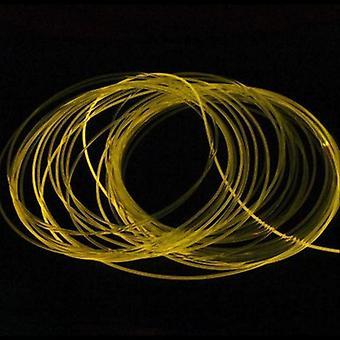 Câble de fibre optique de base solide de lueur latérale de haute qualité