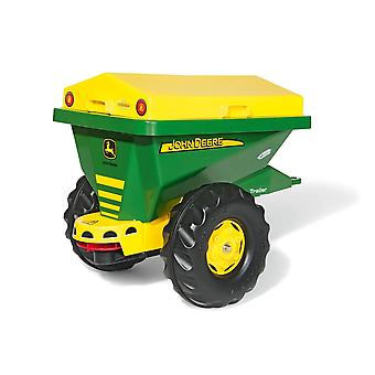 Rolly toys spreader - john deere for 3 - 10 years old - green