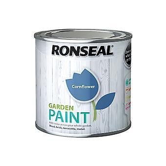 Ronseal Garden Paint Cornflower 250ml RSLGPCF250