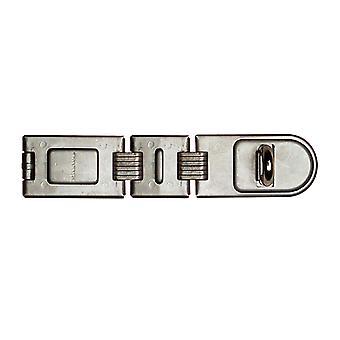 Master Lock Bearbetade stål Dubbel gångjärn Hasp 200mm MLK722
