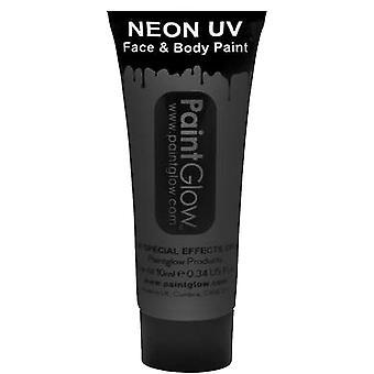 Paintglow Neon Uv Kasvot ja vartalo maali - Musta 13ml