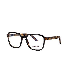 Cutler and Gross 1361 03 Black on Camouflage Glasses