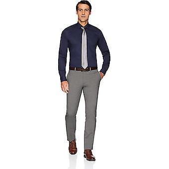 Marke - Buttoned Down Men's Slim Fit Stretch Poplin Nicht-Eisen Kleid Shi...