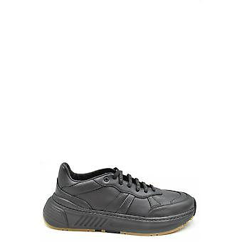 Bottega Veneta Ezbc439010 Men's Black Leather Sneakers