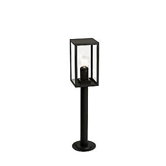 Lowri Short Post, 1 X E27, Ip54, Graphite Black, 2yrs Warranty