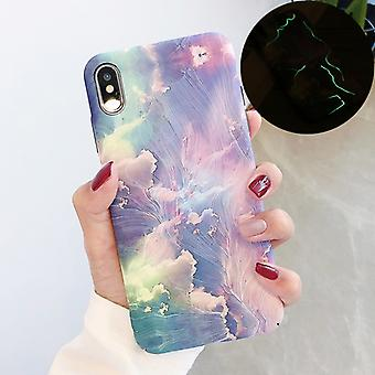 Boîtier de protection PC luminous pattern pour iPhone XS Max