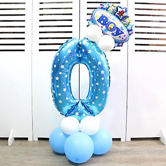 Baby Hat Cartoon Balloon, Layout Inflatable Column