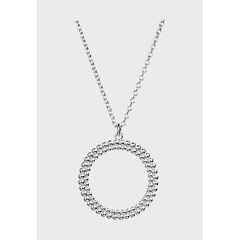 Kalevala قلادة قابل للتعديل 70/80cm دائرة من الفضة الخفيفة 226948080
