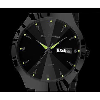 Merk Luxe Lover Horloges-kalender, Jurk, Koppels Polshorloge Relojes Hombre