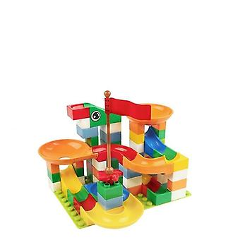 Marble Race Run Block -yhteensopiva Duploed Building Blocks -lelun kanssa