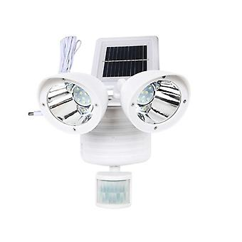 Head Human Body Motion Sensor Solar Lamp Outdoor Waterproof Pathway Emergency