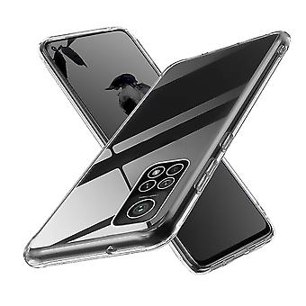 Coque Pour Xiaomi Mi 10t, Housse De Protection En Silicone De Haute Qualité, Transparent