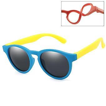 Nuovi occhiali da sole rotondi polarizzati occhiali da sole di sicurezza