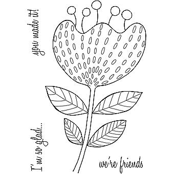 Woodware Clear Stamps - Bold Blooms Katrina