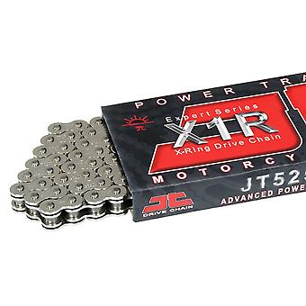 JT Motorcycle Chain 525 X1 R X 124 X-Ring Drive Chain Black