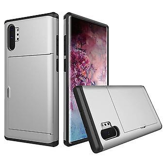 Pocket Case voor Samsung Galaxy S9 + / S9 Plus - Zilver