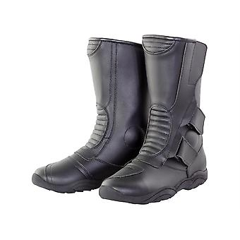 BIKE IT ROAD SCOUT TOURER ADULT BOOTS BLACK