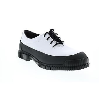 Camper Pix  Mens White Leather Oxfords & Lace Ups Plain Toe Shoes