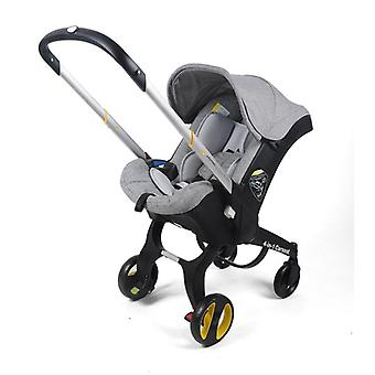 Baby Stroller With Car Seat Bassinet High Landscape Folding Carriage Prams