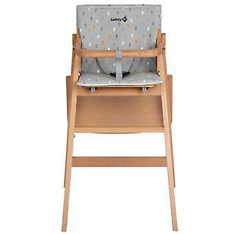 Säkerhet 1st timba barnstol varm grå dyna
