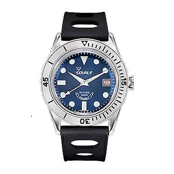 Squale SUB39RD Blue 300 Meter Swiss Automatic Dive Wristwatch
