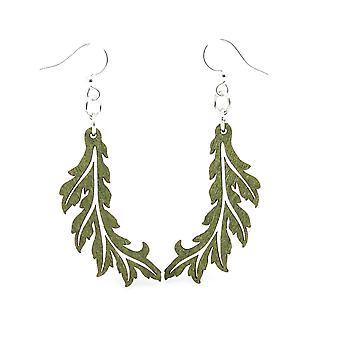 Flowing Leaf Earrings