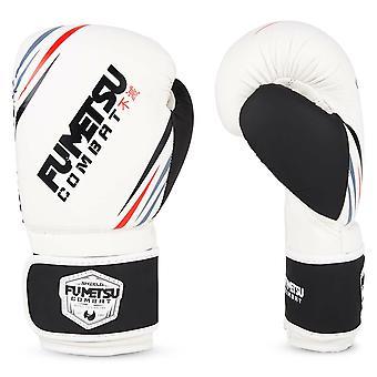 Fumetsu Shield Boxing Gloves White/Black
