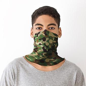 Camuflagem pescoço cachecol face cobertura